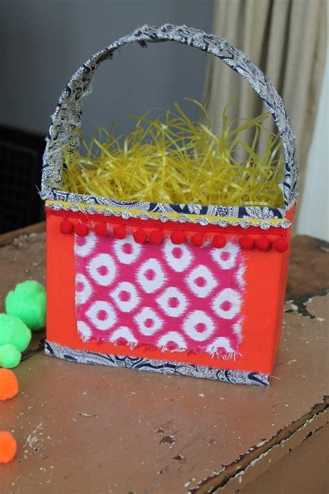 cereal box easter basket family chic  camilla fabbri