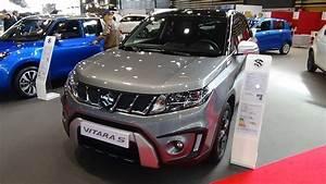 Suzuki Vitara S 1 4 Boosterjet : 2018 suzuki vitara s 1 4 boosterjet allgrip exterior and interior salon automobile lyon 2017 ~ Carolinahurricanesstore.com Idées de Décoration