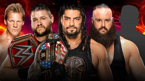 WWE Survivor Series: Who will be the fifth man on Team Raw ...