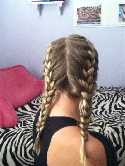 french braided pigtails cute summer ideas hair