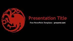 Free House Targaryen Powerpoint Template