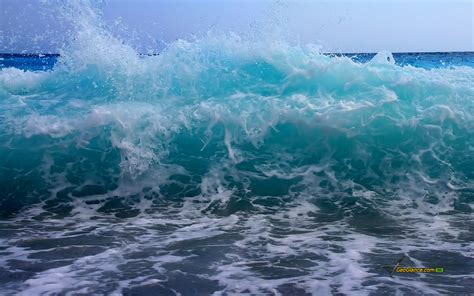 Sea Wave; Wave, Sea, Mediterranean Sea, Storm, Beach
