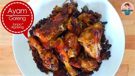 Resep cantonese babi goreng samcan lada garam yg garing. Resep ayam goreng tanpa digoreng ! bisa coklat dan garing ...