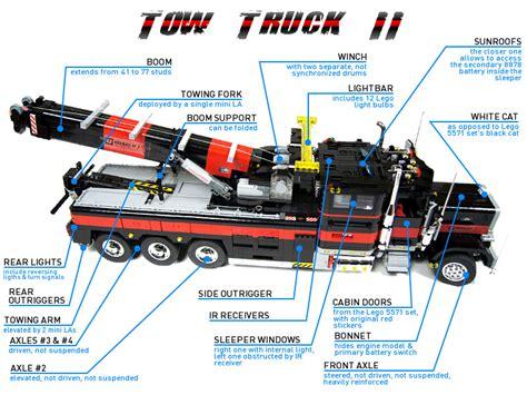 technic delicatessen sariels brutal tow truck