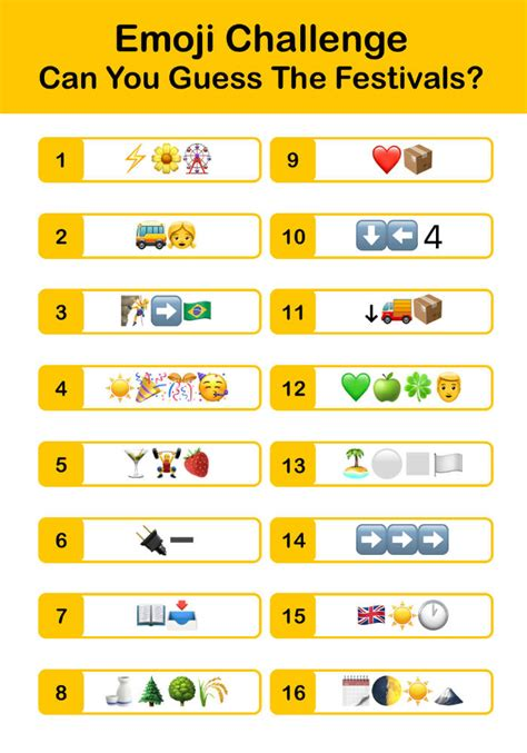 Let's talk a little about it, because this is a great way to unite under the slogan common interest, regardless of nationality, race and so on. Quiz Corner: Can you guess the festival by the emojis ...