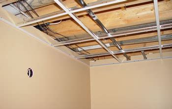 drop ceiling installation acoustic ceiling tile grid