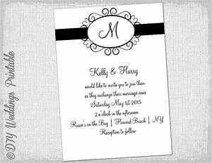 invitation template black and white images invitation With wedding invitation template latex