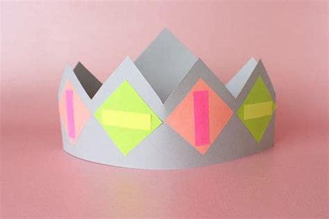 paper crown making activity     tiara crown