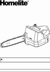 Homelite Chainsaw Ut34010 User Guide