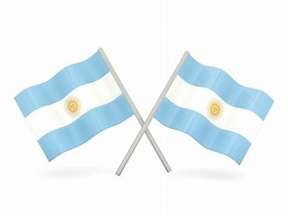 Argentina Flag Flags Wavy Icon Commercial Non