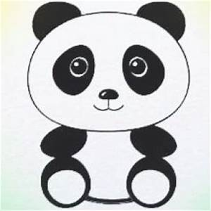 Panda Bear Drawing For Kids