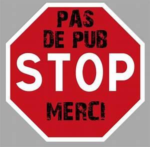 Pas De Pub Merci : pas de publicite pub merci stop boite a lettres 75mm ~ Dailycaller-alerts.com Idées de Décoration