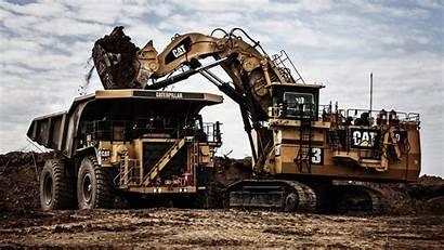 Caterpillar Excavator Wallpapers Truck Dump Equipment Machines