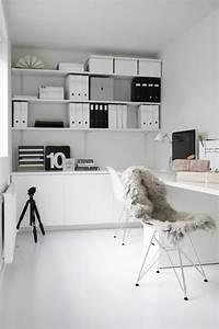 Home Office Einrichten Ideen : gem tlichen arbeitsplatz im wohnzimmer einrichten ~ Bigdaddyawards.com Haus und Dekorationen