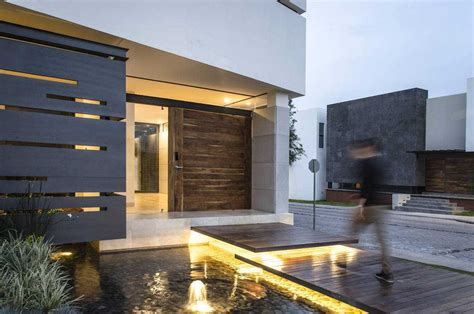 entradas de casas modernas decoracion planos sencillas