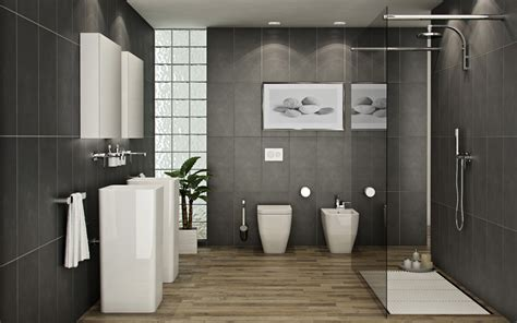 Contemporary Bathrooms : Bathrooms A L'abode