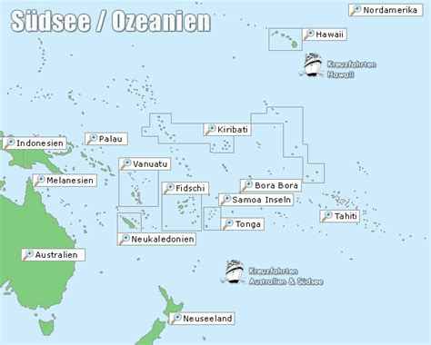 Reisen Südsee - Ozeanien Reisen - Südseereisen, Urlaub ...
