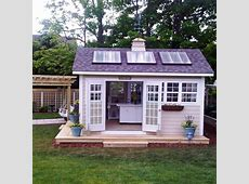 Outdoor Home Why Not Build a SolarPowered Shed? Modernize