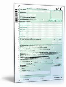 Immobilie Vermieten Steuer Rechner : umsatzsteuererkl rung 2014 formular zum download ~ Frokenaadalensverden.com Haus und Dekorationen
