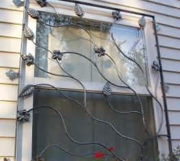 the wrought iron door