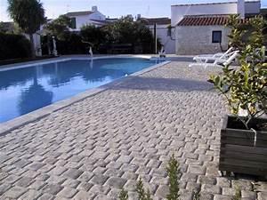 Pavé De Bois : terrasse carrelage pave ~ Premium-room.com Idées de Décoration