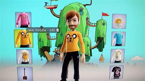 adventure time avatar items    xbox