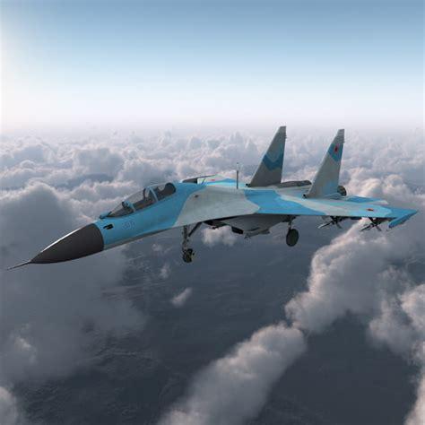 Russian Sukhoi Su 30 Aircraft Ma
