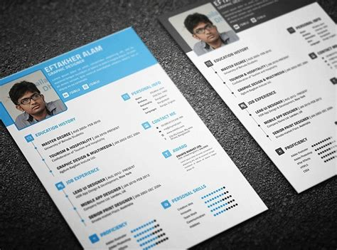 Resume Business Card Format by 10 New Fashion Resume Cv Templates For Free