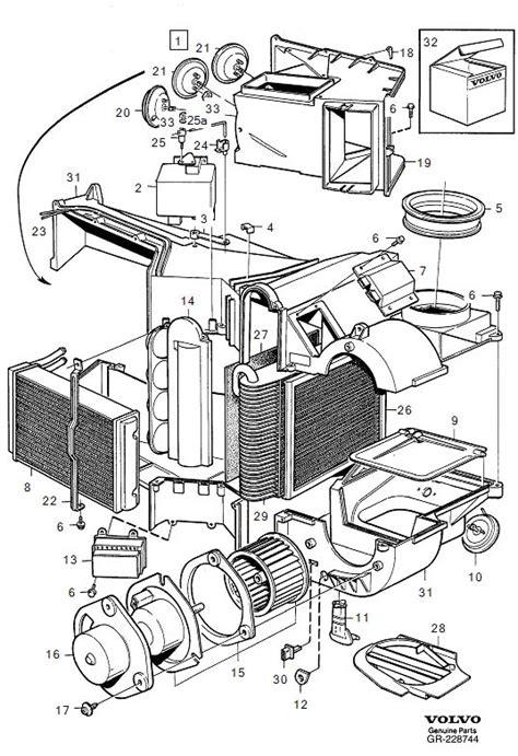 Volvo Resistor Genuine Classic Part Unit