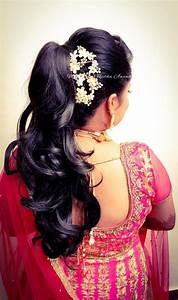 hairstyles for tamil weddings indian bride s reception hairstyle by swank studio bridal