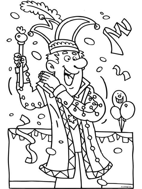 Kleurplaat Carnaval Groep 3 by Juf Ingrid Groep 1 2 Thema Ingridheersink