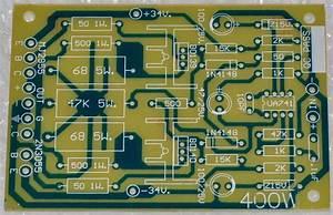 Power Amplifier 400 Watt Using Ic741 And Mj2955  3055 In