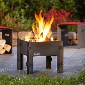Brasero De Terrasse : bras ro campfire jardinchic ~ Premium-room.com Idées de Décoration