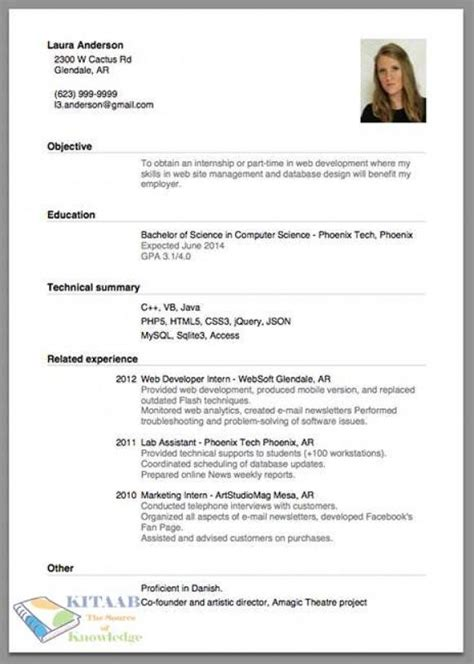Writing A Resumes by How To Write Cv Resume For Tips And Guide