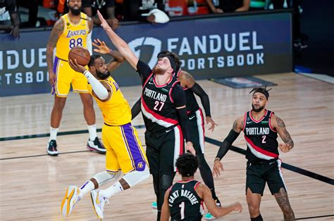 Blazers lose to Lakers in Game 5, ending playoff hopes ...
