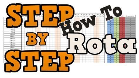 staff attendance sheet   create  simple rota