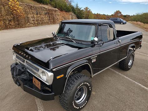 This truck is a no brainer for a nice restoration project. All Black 1970 Dodge Power Wagon Looks Ready for Something ...