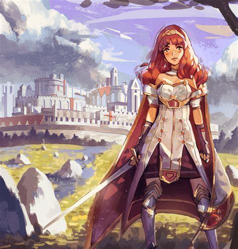 Fire Emblem Fates Wallpaper Hd Fire Emblem Echoes Celica By Klegs On Deviantart