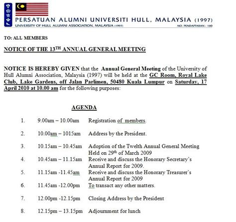official hull university alumni malaysia blog  agm