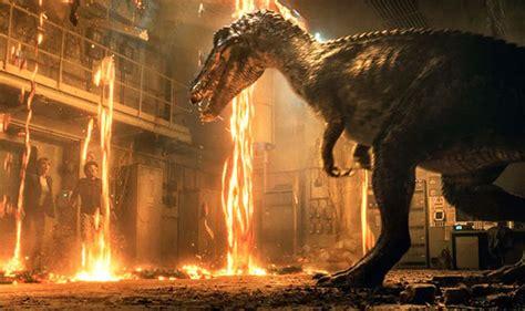 jurassic world 2 new trailer fallen kingdom looks terrifying entertainment express