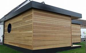 maison ossature bois red cedar toiture plate drouvin ALTERNATIVE BOIS CONCEPT