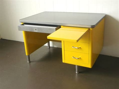 Yellow Office Desk by Yellow Tanker Desk Office Colors