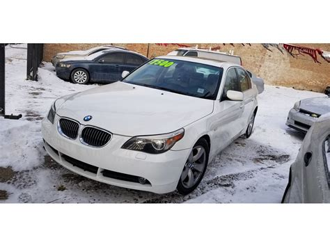Used 2007 Bmw 5 Series For Sale By Owner In Chicago, Il 60621
