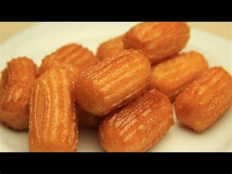 recette cuisine turc recette de tulumba turc la pâte sucrée frite avec le