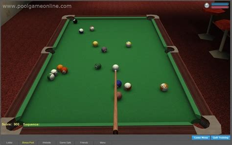 3d Online Pool Features Full 3d
