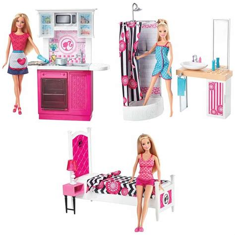 barbie doll furniture set assorted toys   australia toys barbie bedroom barbie