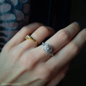 why you should wear the engagement ring your middle finger diamonds inc