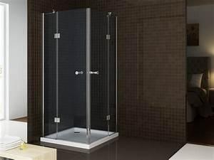 Duschkabine Günstig Online Kaufen : duschabtrennung nano echtglas t801 ex801 80 x 80 x 195 cm badewelt duschkabine eckdusche ~ Bigdaddyawards.com Haus und Dekorationen