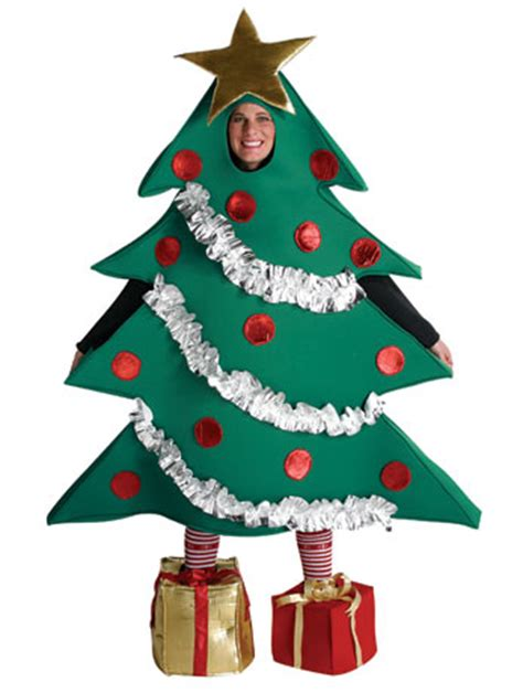 christmas tree from angels fancy dress