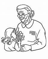 Grandma Coloring Veterans Printable Categories Coloringonly sketch template